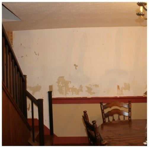 Removing old wall paper