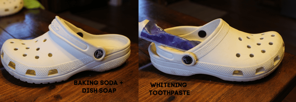 How to clean white crocs. The best method.