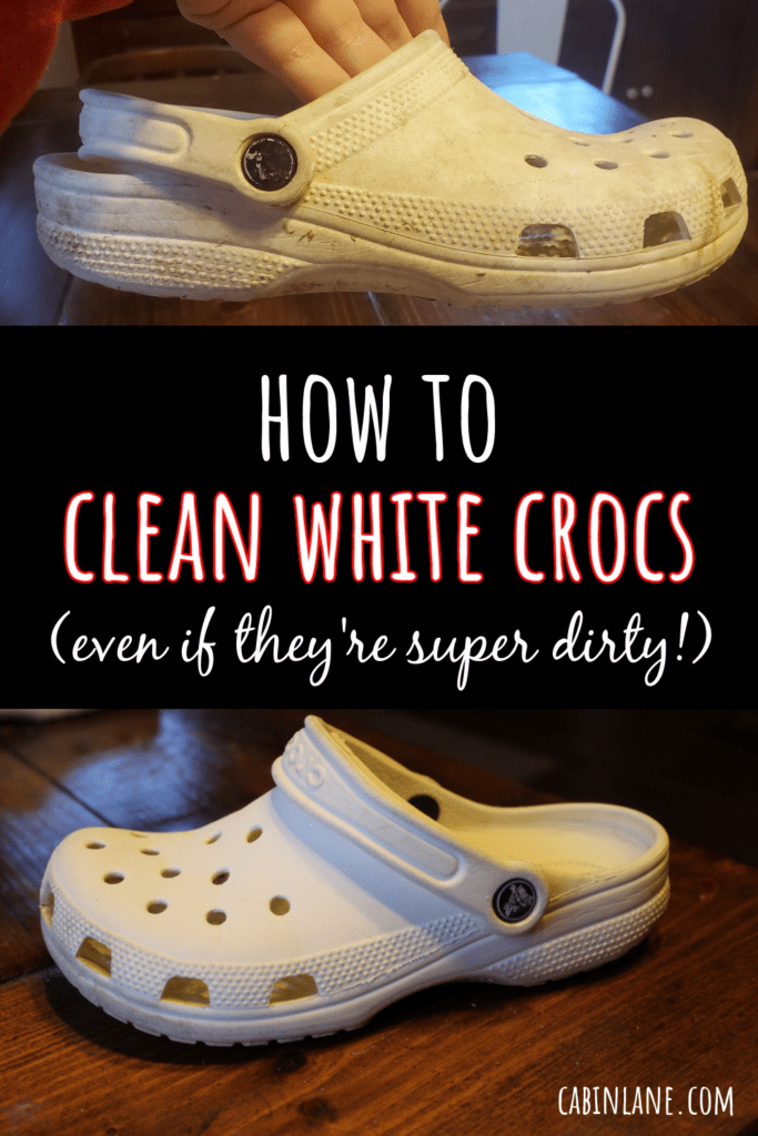How to clean white Crocs. We tested two popular ways to clean white Crocs. Both are easy to do! Find out which worked better.