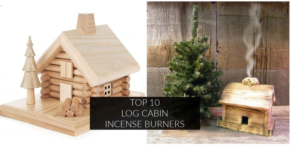 If you're looking to add a whimsical touch to your home, you'll love these ten log cabin incense burners. They're practical and beautiful.