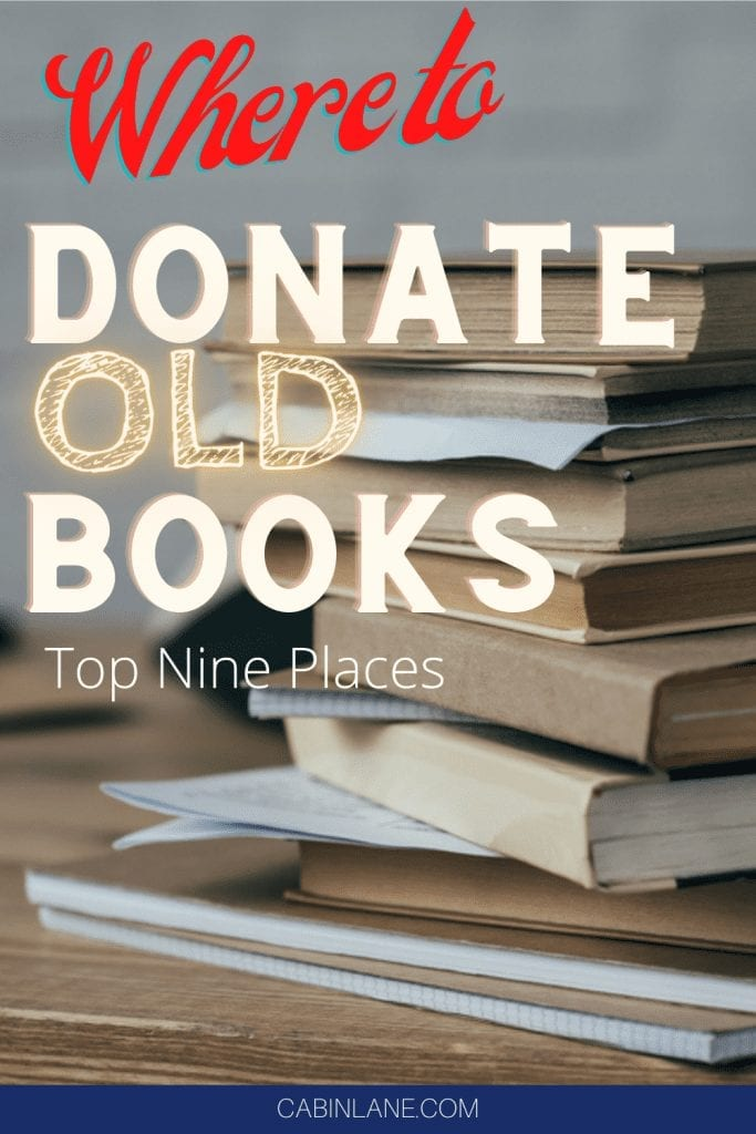 If you're going through the decluttering process you probably have a lot of things to get rid of. Here's where to donate old books - the best places!