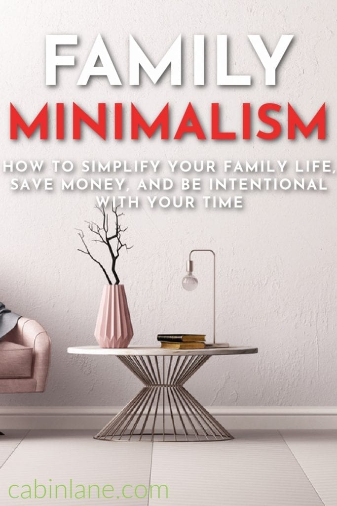 If you're looking to save time and money, spend less time cleaning, and live a more simple life, family minimalism can help. Here's how to get started.