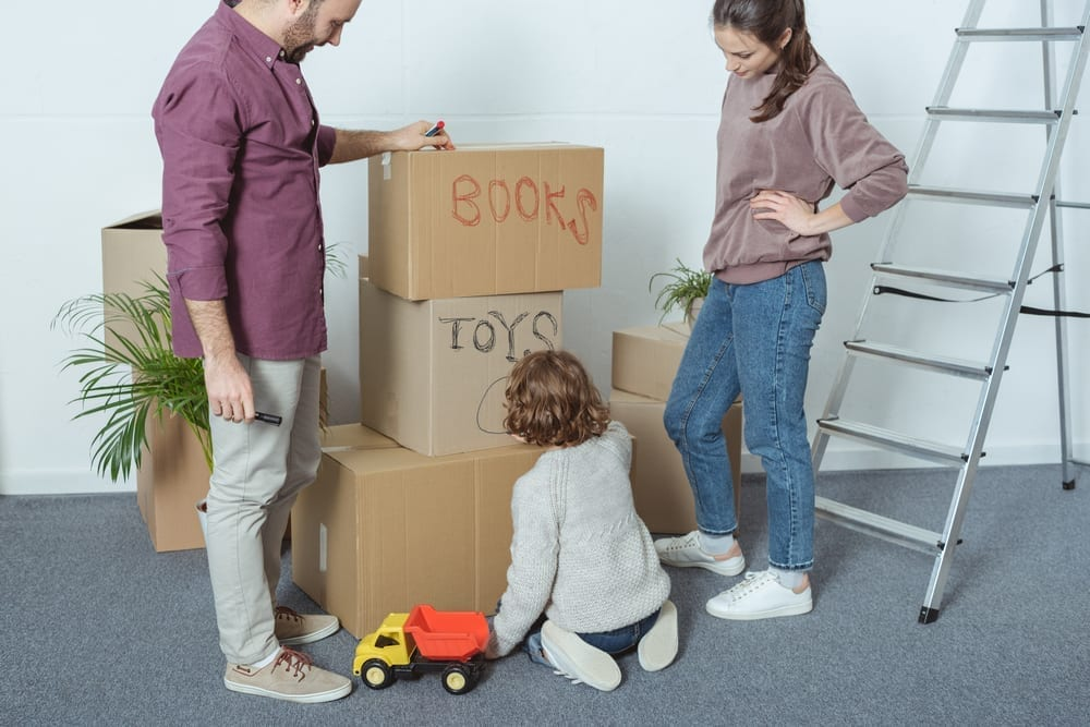 how to delutter before a move