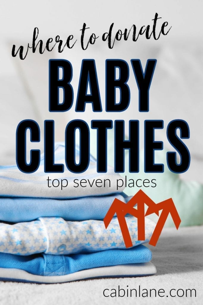 Babies grow out of clothes so fast that it can leave you with a pile of too-small onesies cluttering your home. Here's where to donate baby clothes.