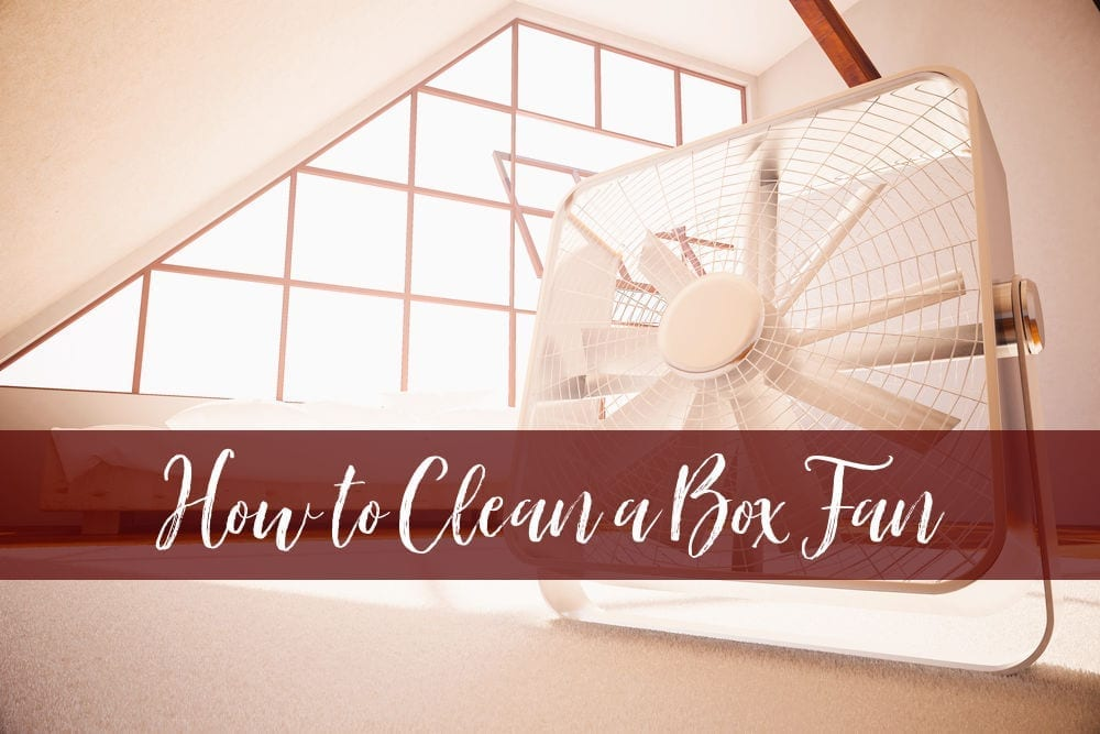 Fans build up dust very quickly and you shouldn't be breathing it in. Here's how to clean a box fan - two easy methods you can choose from.
