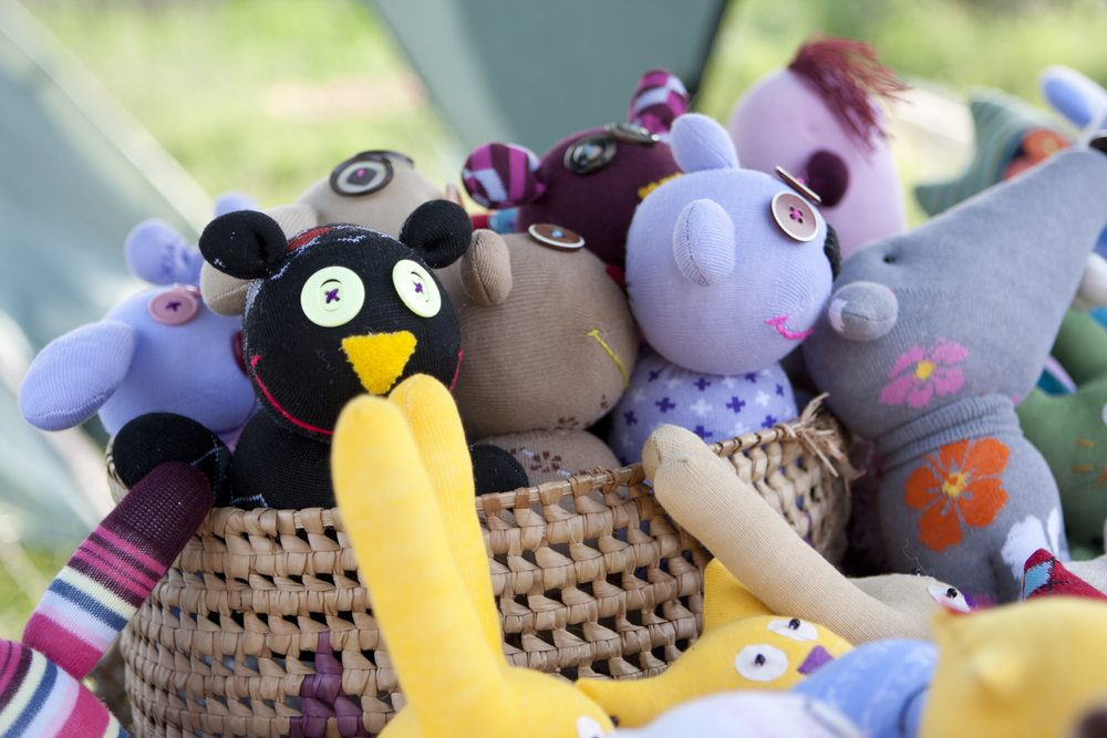 Questions about donated used stuffed animals.