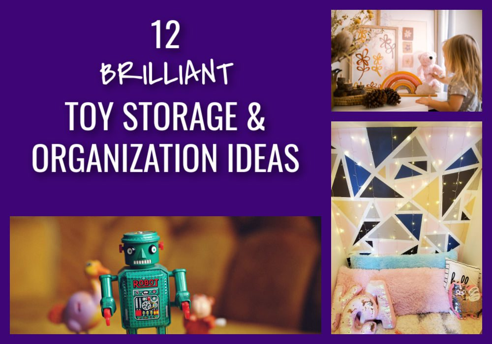 If you're looking to create a playroom that stays clean, use these toy storage and organization ideas. These are easy to implement and kids can keep up with them.