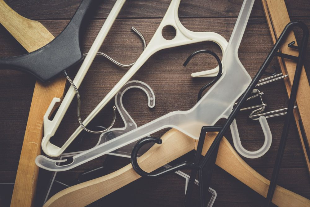 Best places to donate used hangers.