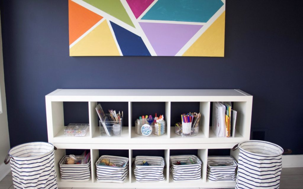 Toy storage and organization ideas - give everything a place.
