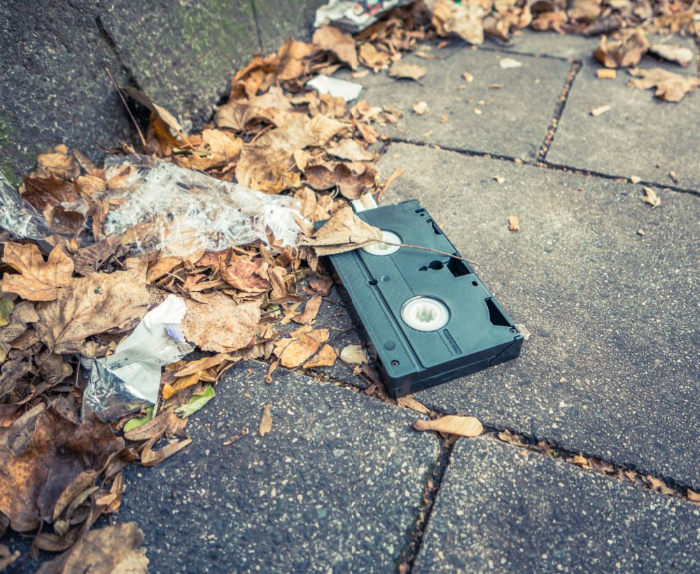 where to recycle vhs tapes