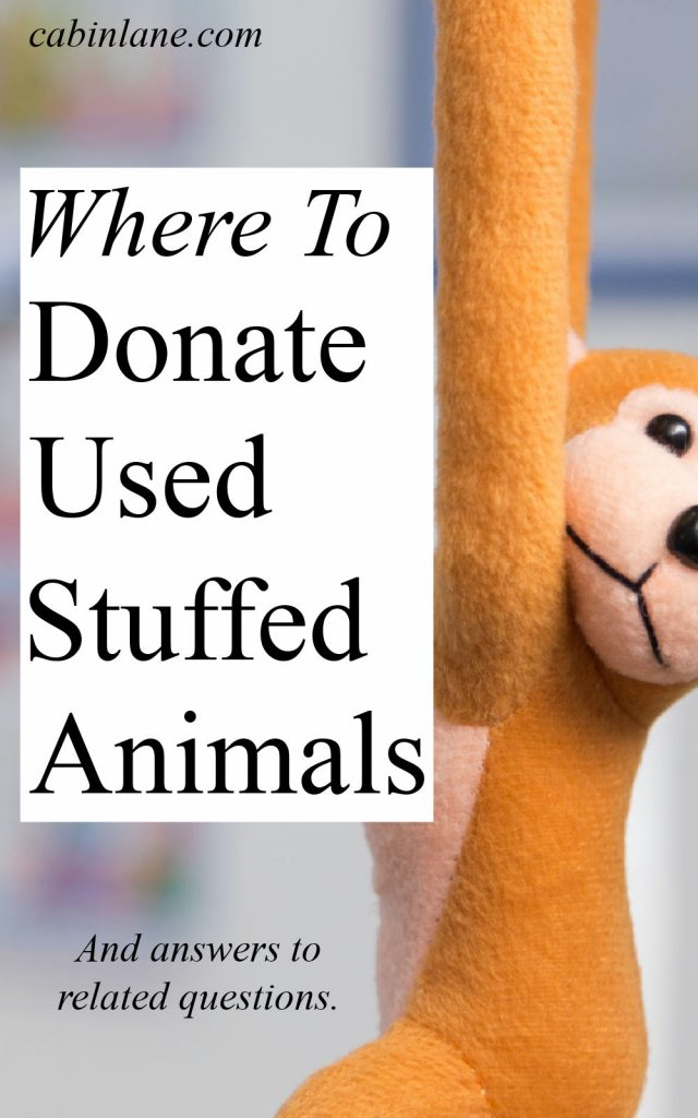 Stuffed animals accumulate so quickly. So, what do you do when you want to get rid of them? Here's where to donate used stuffed animals.