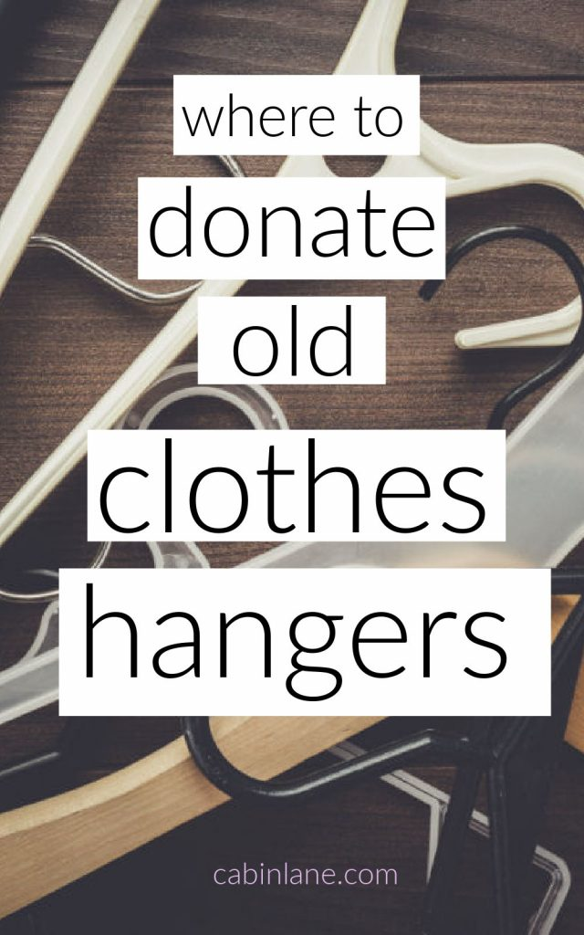 If you've recently decluttered your closet you're probably left with a stack of hangers. Here's where to donate old clothes hangers and what else you can do with them.